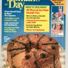Woman's Day Magazine April 1981 With Springtime Desserts Cook Booklet