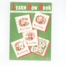 Vintage Learn How Book Number 170-B Coats & Clark's