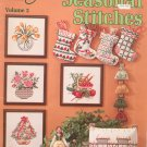 Seasonal Stitches Volume 3 American School Of Needlework Booklet S-9