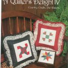 A Quilter's Delight IV by Pat Waters Country Crafts Leaflet 66