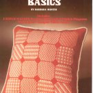 Needlepoint Basics by Barbara Hunter Leisure Arts 28 Vintage  1974