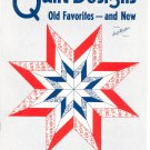 Aunt Martha's Quilt Designs Old Favorites And New No. 3175 Pieced & Appliqued Quilts