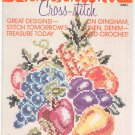 McCall's Needle Art Series Cross Stitch Book 1 McCalls Vintage