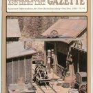 Narrow Gauge And Short Line Gazette Magazine November December 1981 Train Modelbuilding
