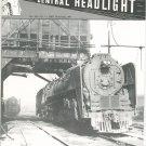 Central Headlight Magazine First Quarter 1989 Railroad Train