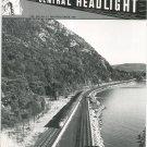 Central Headlight Magazine Second Quarter 1989 Railroad Train