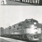 Central Headlight Magazine Fourth Quarter 1989 Railroad Train