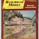 Railroad Model Craftsman Magazine December 1982  Not PDF Back Issue