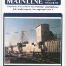 Mainline Modeler Magazine August 1984 Train Railroad  Not PDF Back Issue