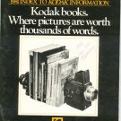 1981 Index To Kodak Information