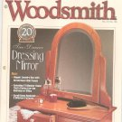 Woodsmith Magazine Back Issue Volume 21 Number 126 Two Drawer Dressing Mirror Plus December 1999