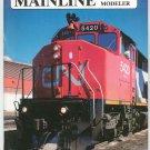 Mainline Modeler Magazine February 1987 Train Railroad  Not PDF Back Issue