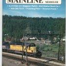 Mainline Modeler Magazine September 1987 Train Railroad  Not PDF Back Issue