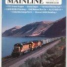 Mainline Modeler Magazine February 1988 Train Railroad  Not PDF Back Issue