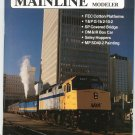 Mainline Modeler Magazine March 1988 Train Railroad  Not PDF Back Issue