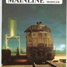 Mainline Modeler Magazine April 1988 Train Railroad  Not PDF Back Issue
