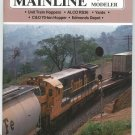 Mainline Modeler Magazine August 1988 Train Railroad  Not PDF Back Issue