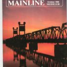 Mainline Modeler Magazine October 1988 Train Railroad  Not PDF Back Issue