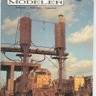 Mainline Modeler Magazine August 1983 Train Railroad  Not PDF Back Issue