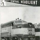 Central Headlight Magazine Second Quarter 1995 Railroad Train