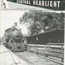 Central Headlight Magazine Second Quarter 1996 Railroad Train