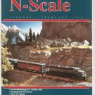 N Scale Magazine January February 1996 Back Issue Train Railroad