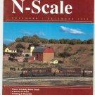 N Scale Magazine November December 1995 Back Issue Train Railroad