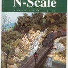 N Scale Magazine March April 1995 Back Issue Train Railroad