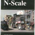 N Scale Magazine May June 1995 Back Issue Train Railroad