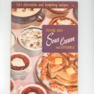 Cooking With Sour Cream And Buttermilk Cookbook Vintage Culinary Arts 121 1956