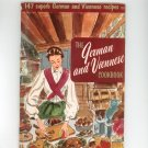 The German and Viennese Cookbook by Culinary Arts Institute Vintage Item