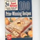 Pillsbury's 2nd Grand National 100 Prize Winning Recipes Cookbook First Edition Vintage 1951