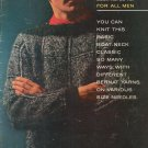 Vintage Bernat Knit This Basic Boat Neck Book Number 88 For All Men 1960
