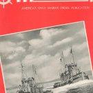 Motorship And Diesel Boating Magazine February 1943 Back Issue Vintage Marine