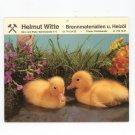 Helmut Witte Advertising Calendar 1984