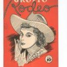 Vintage Grotto Rodeo Program 1942 Local Advertisements New York