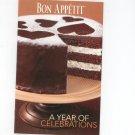 Bon Appetit A Year Of Celebrations Cookbook 2007