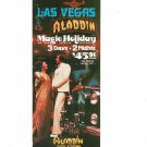 Vintage Las Vegas Aladdin Magic Holiday Travel Brochure 1975 1976