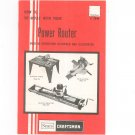 How To Do More With Your Power Router Sears Craftsman 2948