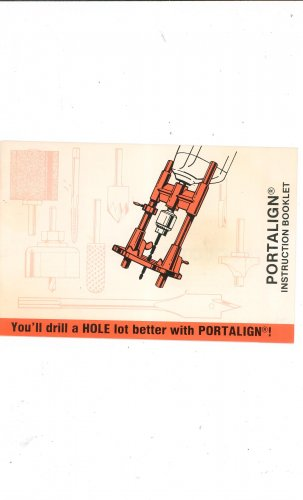 Portalign Instruction Booklet Manual Drill Guide