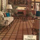Vintage Congoleum Fine Floors 1969 Catalog Hard Cover