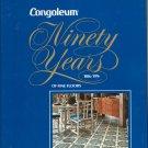 Vintage Congoleum Fine Floors 1976 Catalog Hard Cover
