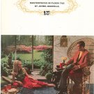 Vintage Masterpieces In Floor Tile by Johns Manville Brochure 1967