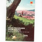 Kodak Your Programs From Kodak AT-1 1975 Library Catalog Vintage