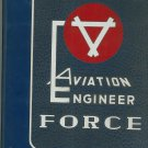 Vintage Aviation Engineer Force Yearbook Hard Cover Taylor Publishing