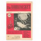 Vintage Workbasket Magazine April 1956 Home and Needlecraft Pleasure and Profit