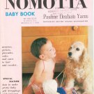 Vintage Nomotta Baby Book Pauline Denham Yarns Knit Crochet