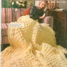 Vintage Bernat A Bouquet Of Bernat Afghans Book Number 160 Knit & Crochet Berella