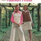 Vintage Coats & Clark's Fashion Firsts To Knit & Crochet First Edition