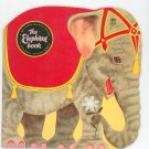 Vintage The Elephant Book by Charles Nicholas Golden Shape Book 5916
